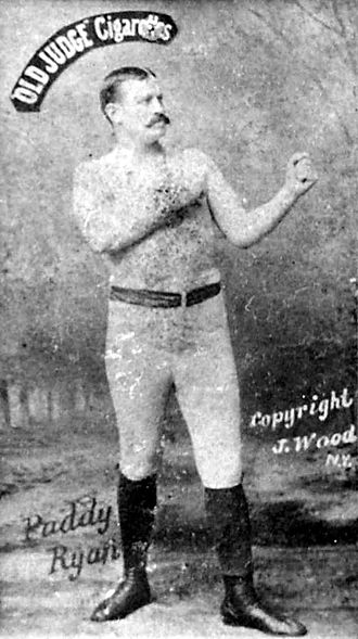 John L. Sullivan - Image: Paddy Ryan old judge