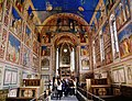 Padova Cappella degli Scrovegni Innen Langhaus Ost 1.jpg