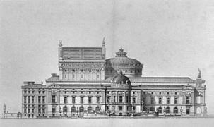Palais Garnier elevation of the west facade - Mead 1991 p103.jpg