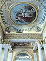 Palais du Louvre - Musée Charles X - Salle des colonnes - Décoration du plafond.JPG