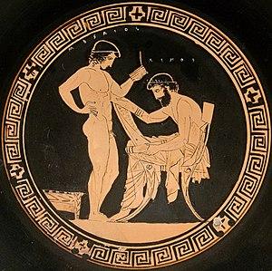 ахилес древняя греция спарта: