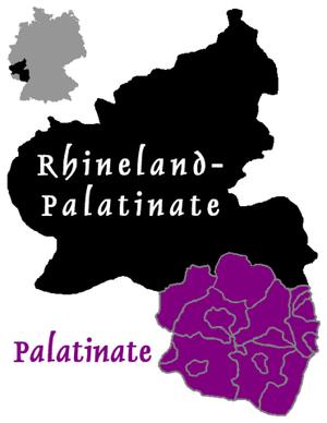 Kallstadt - Image: Palatinate in Rhineland Palatinate