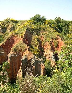 Paleosol - Paleosols sequence, Tuscany, Italy