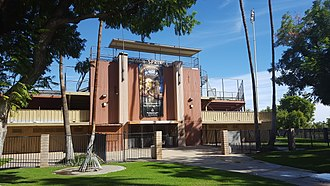 Palm Springs Stadium - Image: Palm Springs Stadium (Palm Springs, California)