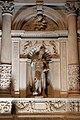 Pandolfo fancelli e stagio stagi, altare di san biagio, con lunetta della madonna col bambino 02.JPG