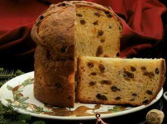 Panettone - a typical panettone