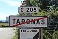 Panneau sortie Taponas 4.jpg