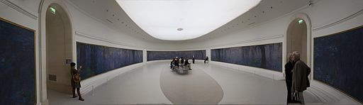 Panorama Interior of Musée de l'Orangerie 2