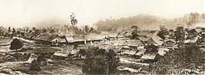 Panorama of Kuala Lumpur ca. 1884