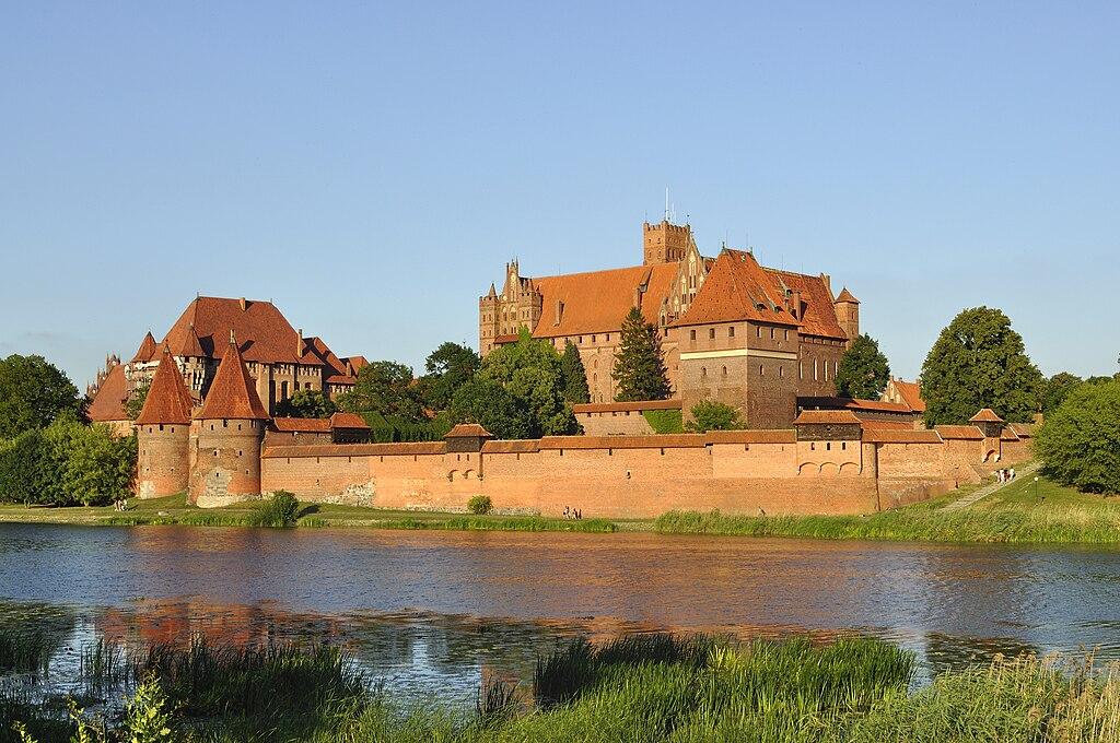 Panorama of Malbork Castle, part 3