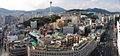 Panoramic view of Busan, with Busan Tower in the middle. South Korea.jpg