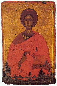 Panteleimon by Byzantine anonymous (15th c., Pushkin museum).jpg