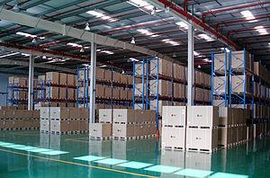 English: Pantos Logistics - Warehouse