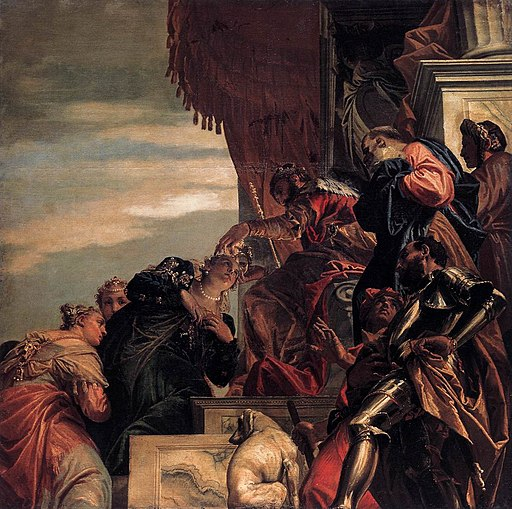Paolo Veronese - Esther Crowned by Ahasuerus - WGA24784