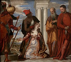 Paolo Veronese: The Martyrdom of Saint Justina