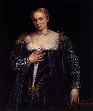 La Bella Nani - Paolo Veronese - Portrait of a Venetian Woman (La Bella Nani)