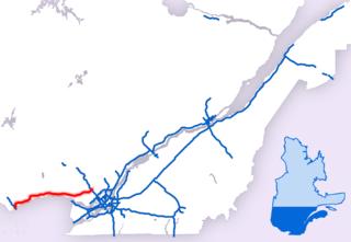 Quebec Autoroute 50 Highway in Quebec