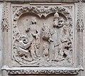 Paris, cathédrale Notre-Dame, bas-relief des chapelles du chœur 07 La légende de Théophile.jpg