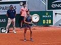 Paris-FR-75-open de tennis-2019-Roland Garros-court Mathieu-6 juin-double dames-10.jpg