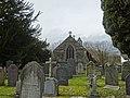 Parish church of Church of St Bridget at Llansantffraid Glyn Dyfrdwy (later re-named Carrog), Sr Ddinbych, Wales 11.jpg