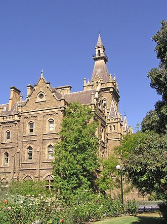 Ormond College - Ormond College (1879) University of Melbourne