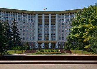 Parliament of the Republic of Moldova - Image: Parliament Building in Chișinău