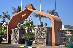 National Assembly (Kenya) - Entrance to the Parliament Buildings, Nairobi