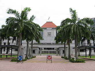 Nominated Member of Parliament - Parliament House, Singapore, in December 2005