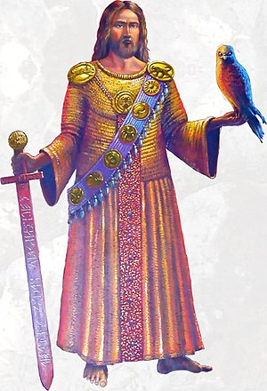 Hungarian Turanism - Jesus Christ as Parthian-Hungarian warrior prince