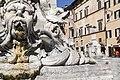 Particolare architettonico fontana piazza della Rotonda.jpg