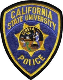California State University police departments