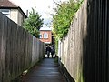 Path between Gisborne Road and Radegund Road - geograph.org.uk - 1417456.jpg