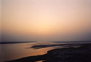 View of the Ganga from Patna