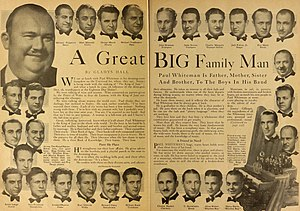Paul Whiteman - The members of Whiteman's Orchestra in 1930