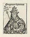 Paus Gregorius VII Gregorius septimus (titel op object) Liber Chronicarum (serietitel), RP-P-2016-49-67-10.jpg