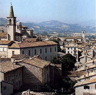 Cagli Comune in Marche, Italy