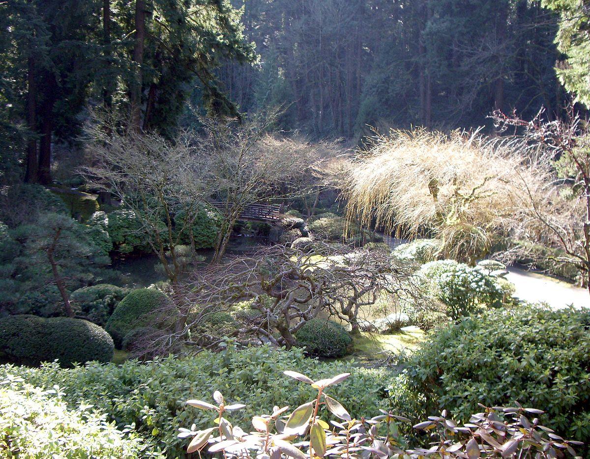 Jard n japon s de portland wikipedia la enciclopedia libre for Arboles para jardin japones