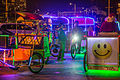 Pedicabs at the San Diego Bay Parade of Lights 2014 (15405628743).jpg