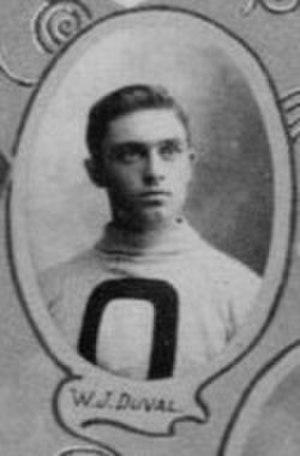William Duval (ice hockey) - Duval with the Ottawa Hockey Club in 1901.