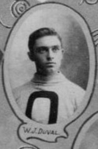 William Duval (ice hockey) - Duval with the Ottawa Hockey Club in 1901.