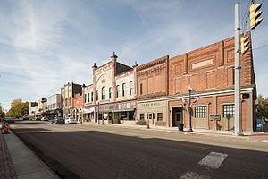 Pendleton, Indiana - Photo from Small Town Indiana photo survey.
