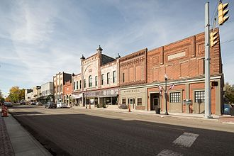 Pendleton, Indiana - Photo from Small Town Indiana photo survey.