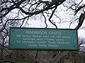 Pendragon Castle Information Board - geograph.org.uk - 1467763.jpg