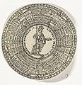 Penning van de Universiteit van Leiden, met de namen van de hoogleraren en Minerva, RP-P-OB-7259-59.jpg