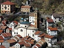 La parrocchiale di San Pietro nel borgo di Pentema