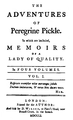Peregrine Pickle 1st edition.png