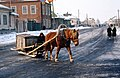 Pereslavl Horse Drawn Sled.jpg