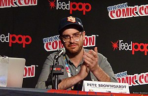 Peter Browngardt - Browngardt at the 2014 New York Comic Con