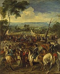 Henri IV at the battle of Arques