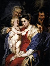 Peter Paul Rubens - The Holy Family with St Anne - WGA20253.jpg